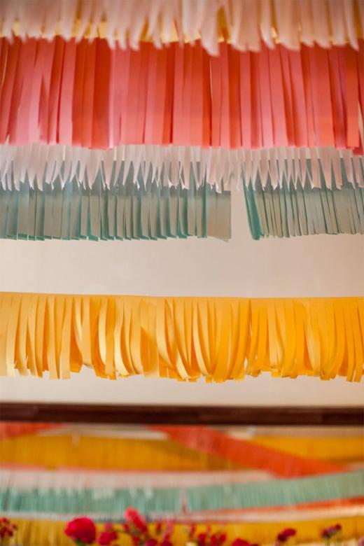 Hanging Paper Fringe