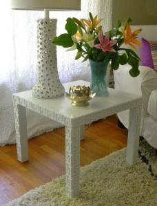 O'verlays table