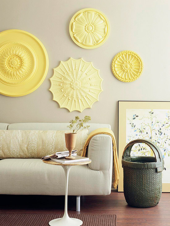 Ceiling Medallion Wall Art – HOME IS.